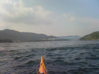 黒ノ瀬戸海峡突破